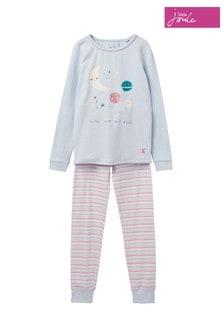 Pyžamová súprava Joules  Sleepwell s potlačou