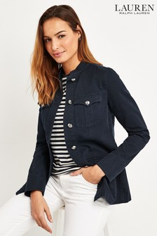 Lauren Ralph Lauren® Navy 4 Pocket Vestah Jacket