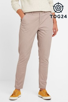 Tog 24 Womens Pink Pickering Long Chino Trousers