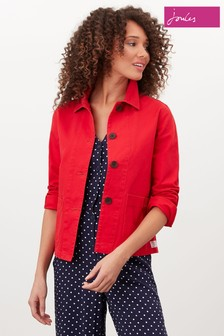 Joules Red Devon Coastal Jacket