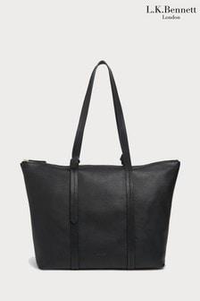 L.K.Bennett Black Blake Tote Bag