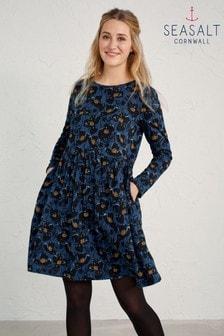 Seasalt Tall Blue Sea Mirror Dress