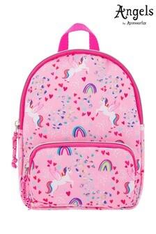 Accessorize Pink Retro Unicorn Printed Mini Backpack