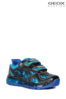 Geox Boy's Android Black Shoe