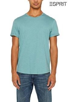 Esprit Green Crew Neck T-Shirt