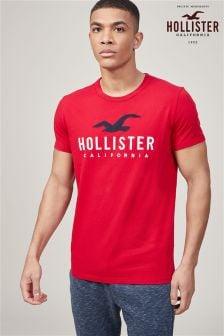 Hollister Classic Logo T-Shirt