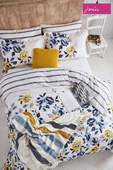 Joules Galley Floral Cotton Duvet Cover