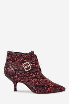 Forever Comfort® Kitten Heel Ankle Boots