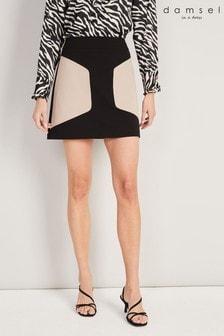 Damsel In A Dress Neutral Bonnie Colourblock Skirt