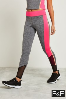 F&F Multi Panelled Reflective Active Legging