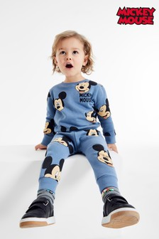 Mickey Mouse™ Jersey Crew And Jogger Set (3mths-8yrs)