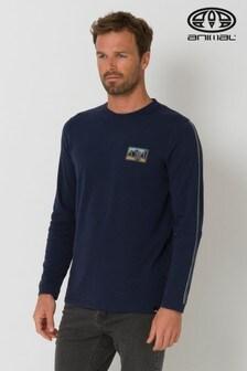 Animal Blue Nold Long Sleeve T-Shirt
