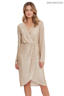 Gina Bacconi Erica Sequin Dress