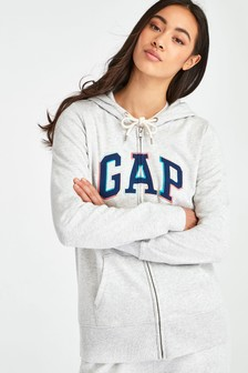 Gap Grey Full Zip Hoody