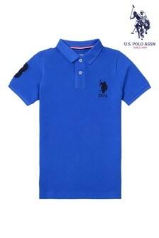 U.S. Polo Assn. Blue Player 3 Polo