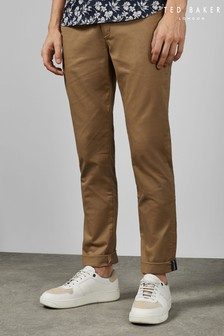 Ted Baker Natural Teenchi Tapered Fit Chinos