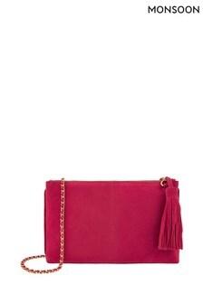 Monsoon Pink Caddie Colour Pop Cross Body Bag