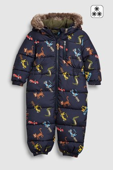 All Over Print Snowsuit (3mths-6yrs)