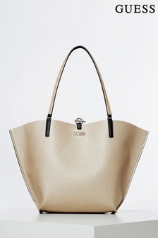 Guess Gold/Black Alby Bag