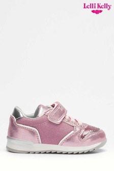 Różowe brokatowe buty sportoweLelli Kelly Cloe