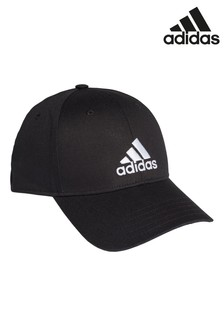 adidas Kids Black Baseball Cap