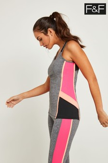 F&F Multi Panelled Reflective Active Vest