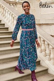 Boden Tan Ellen Maxi Dress