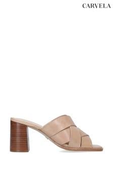 Carvela Glass Nude Sandals