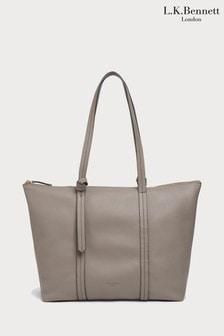 L.K.Bennett Brown Blake Tote Bag