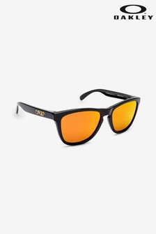 Oakley Black/Orange Sunglasses