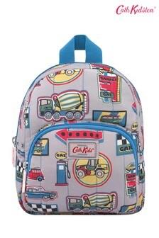 Cath Kidston® Kids White Garage Badges Mini Quilted Rucksack