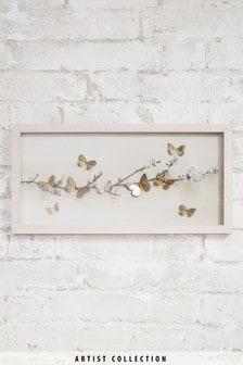 "Artist Collection Gerahmtes Bild ""Lasercut Butterflies"" von Ian Winstanley"