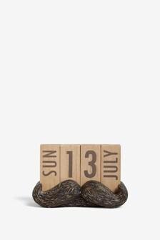 Moustache Perpetual Calendar