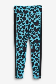 adidas Performance Heart Print Leggings