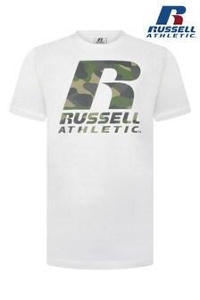 Russell Athletics Camo Logo T-Shirt