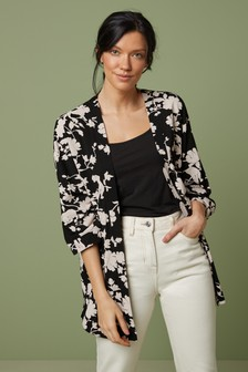 Strickjacke im Kimono-Look
