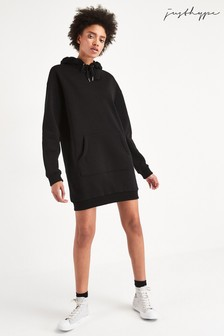 Hype. Longline Hoody Dress