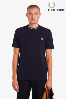 Fred Perry Henley Neck T-Shirt
