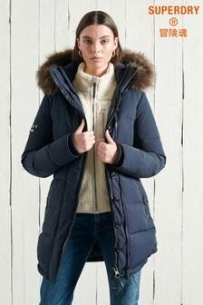 Superdry Premium Down Classics Rescue Parka Coat
