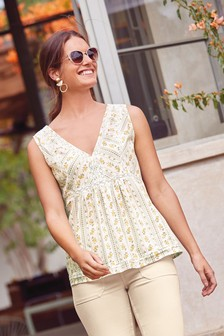 Lace Insert Cami