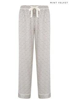 Mint Velvet Sofia Print Pyjama Bottoms