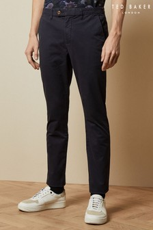 Ted Baker Blue Teenchi Tapered Fit Chinos