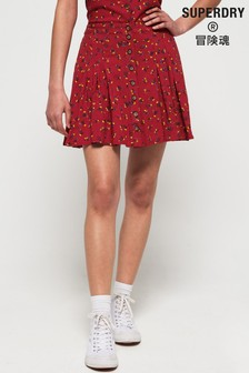 Superdry Maycee Button Skirt
