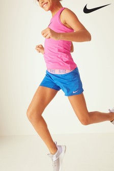 Nike Blue Trophy Shorts