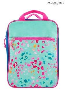Accessorize Multi Colourblock Animal Print Backpack