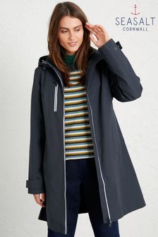 Seasalt Cornwall Midnight Blue Coverack Coat