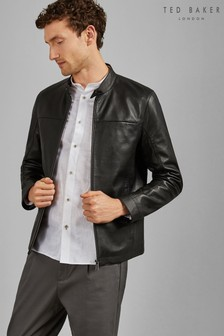 Ted Baker Cargo Leather Jacket