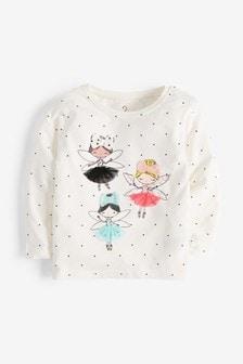Fairies Appliqué T-Shirt (3mths-7yrs)