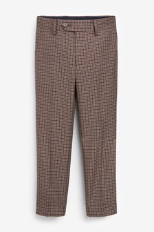 Gingham Check Suit Trousers (12mths-16yrs)