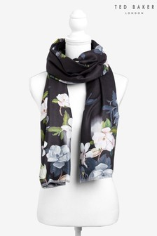 Ted Baker Black Opaal Wide Scarf